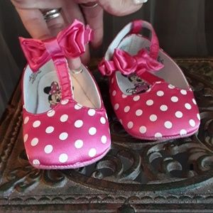 💕Miney Mouse Pink Polka Dot Shoes